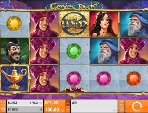Дикий символ в игре Genies Touch