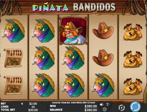 Символы игрового автомата Pinata Bandidos
